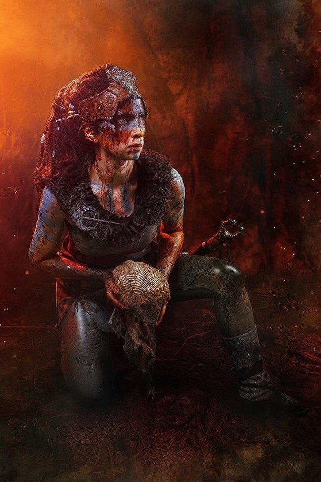Russian Cosplay: Senua (Hellblade: Senua's Sacrifice)