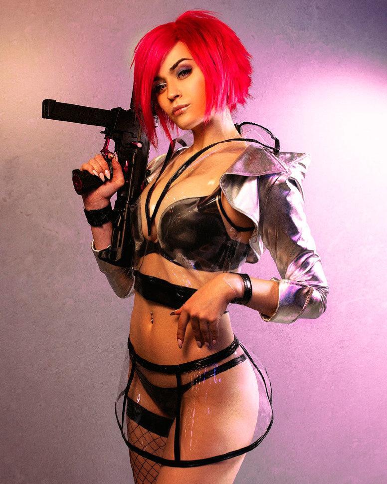 Russian Cosplay: Cyberpunk 2077