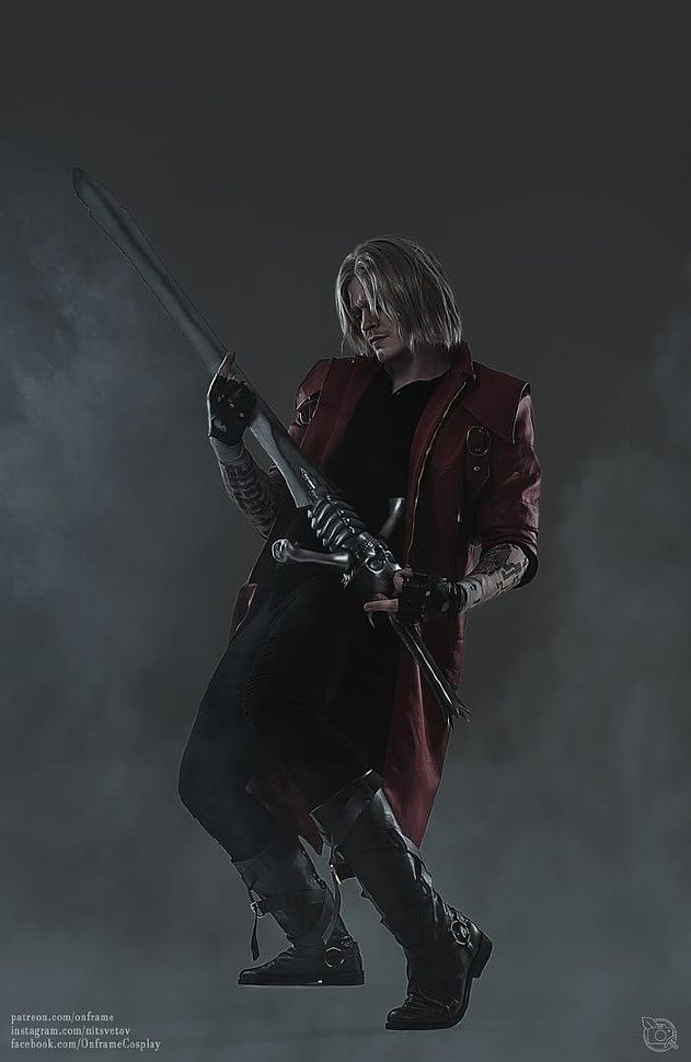 Russian Cosplay: Dante (Devil May Cry 5)