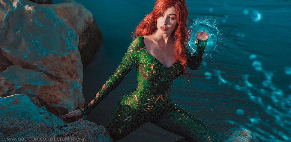 Russian Cosplay: Mera (Aquaman) by Himera