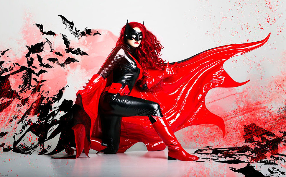 Russian Cosplay: Batwoman (DC Comics)