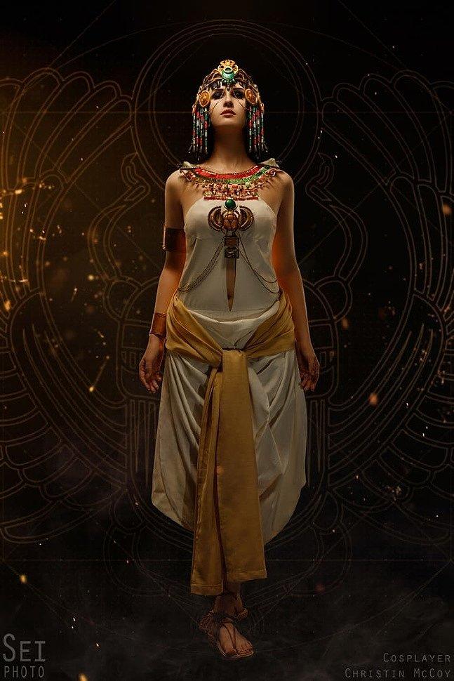 Russian Cosplay: Cleopatra (Assassin's Creed: Origins)