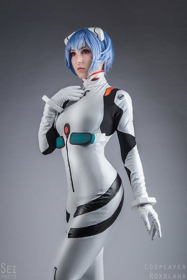 Russian Cosplay: Rei (Evangelion) by Roxolana Ridel