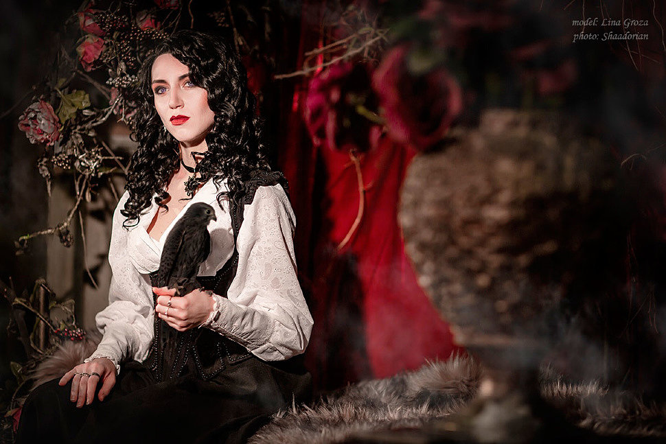 Russian Cosplay: Yennefer (The Witcher)