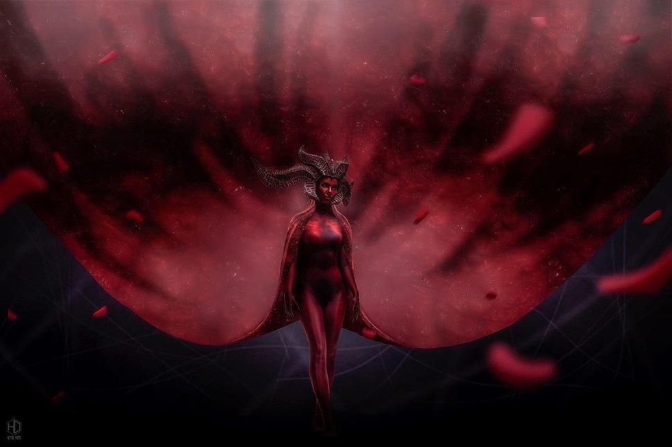 Russian Cosplay: Lilith (Diablo IV) by Felidae