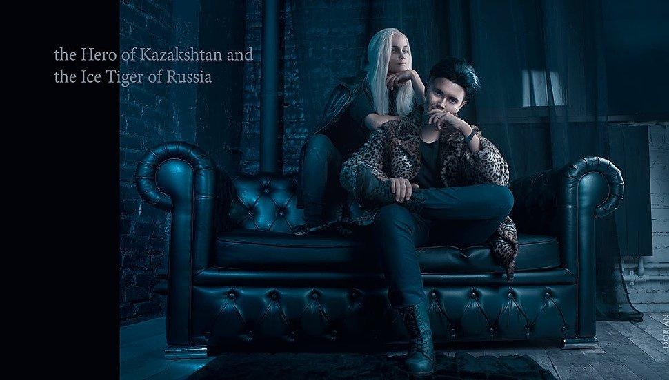 Russian Cosplay: Yuri Plisetsky & Otabek Altin (Yuri!!! on ice)