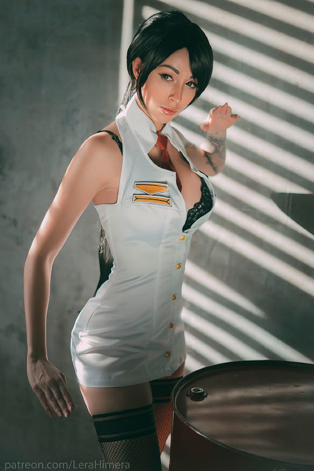 Russian Cosplay: Momiji (Dead or Alive)