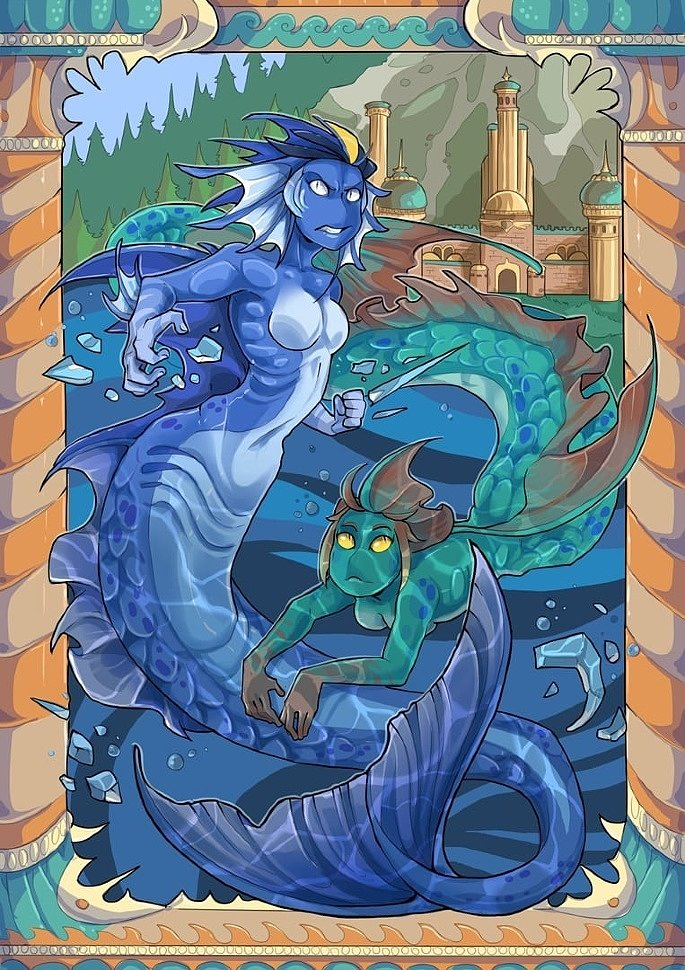 [Art] Heroes of Might and Magic 3 by KogotsuchiDark KODA & DymasyaSilver