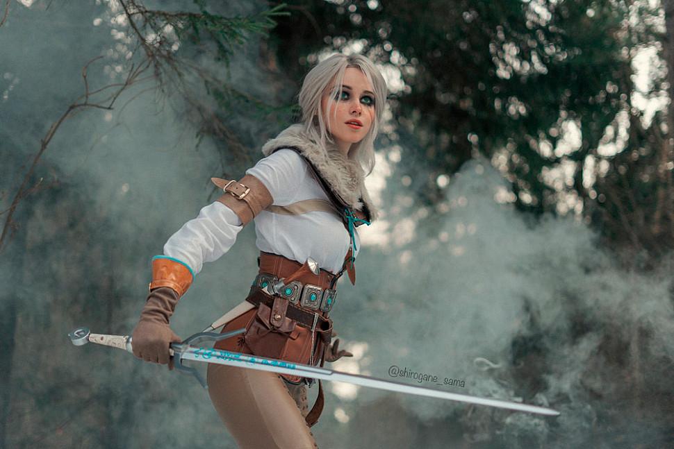[Cosplay] Ciri (The Witcher 3) by shirogane_sama