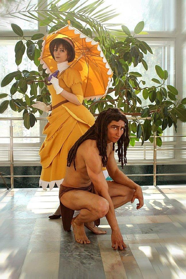 Russian Cosplay: Tarzan & Jane (Tarzan)