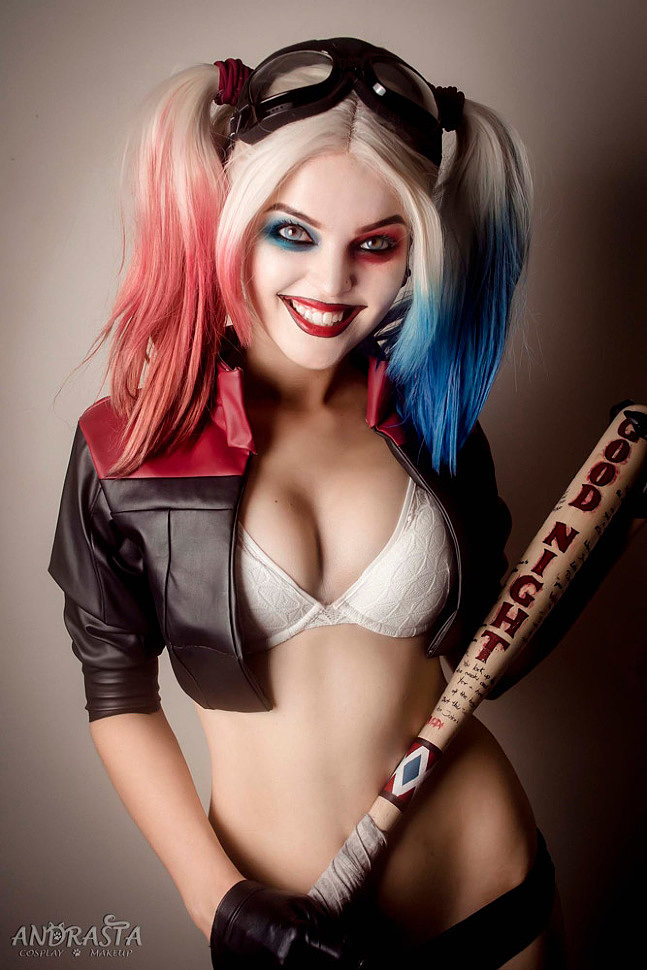 Cosplay: Harley Quinn (DC) by Andrasta
