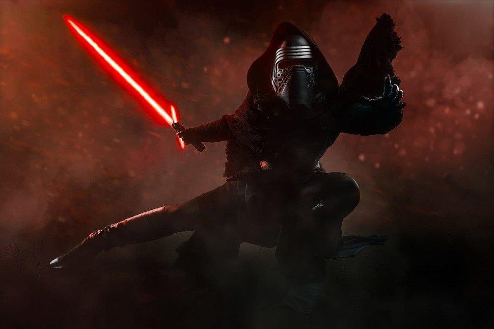 Russian Cosplay: fem! Kylo Ren (Star Wars) by McCoy