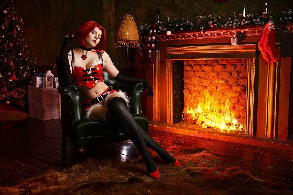Russian Cosplay: Rayne (BloodRayne) by Anya iChios