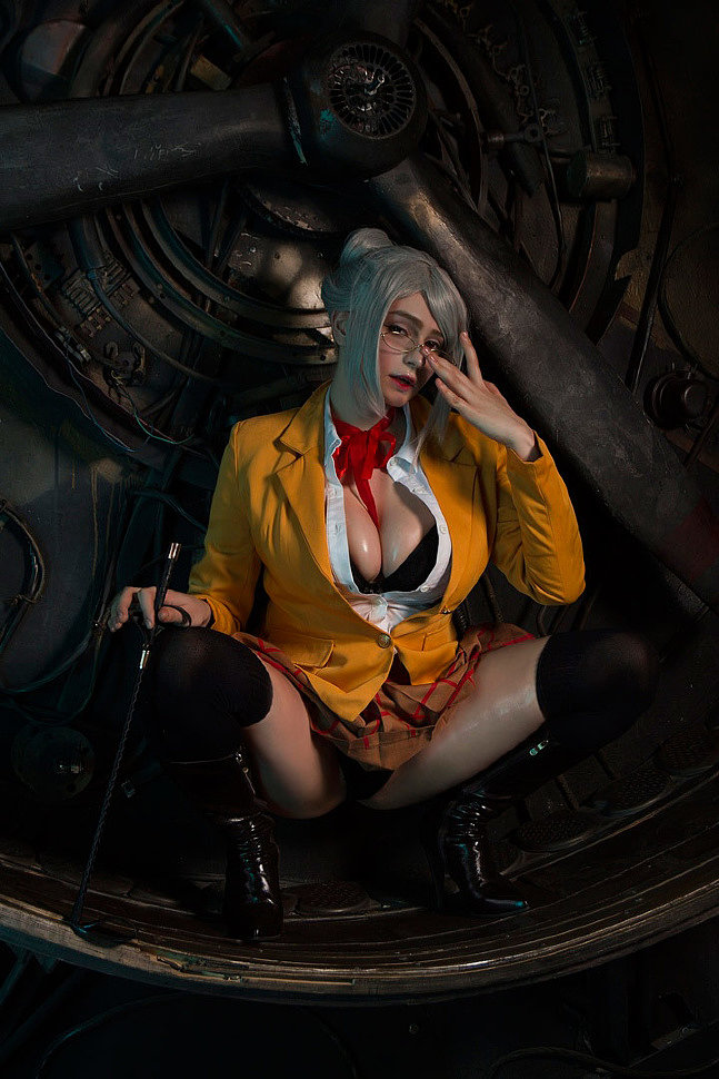 Russian Cosplay: Meiko (Prison School) by Shadory