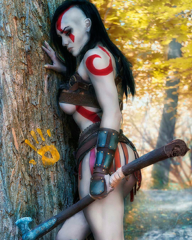 Russian Cosplay: Kratos (God of War) by Octokuro