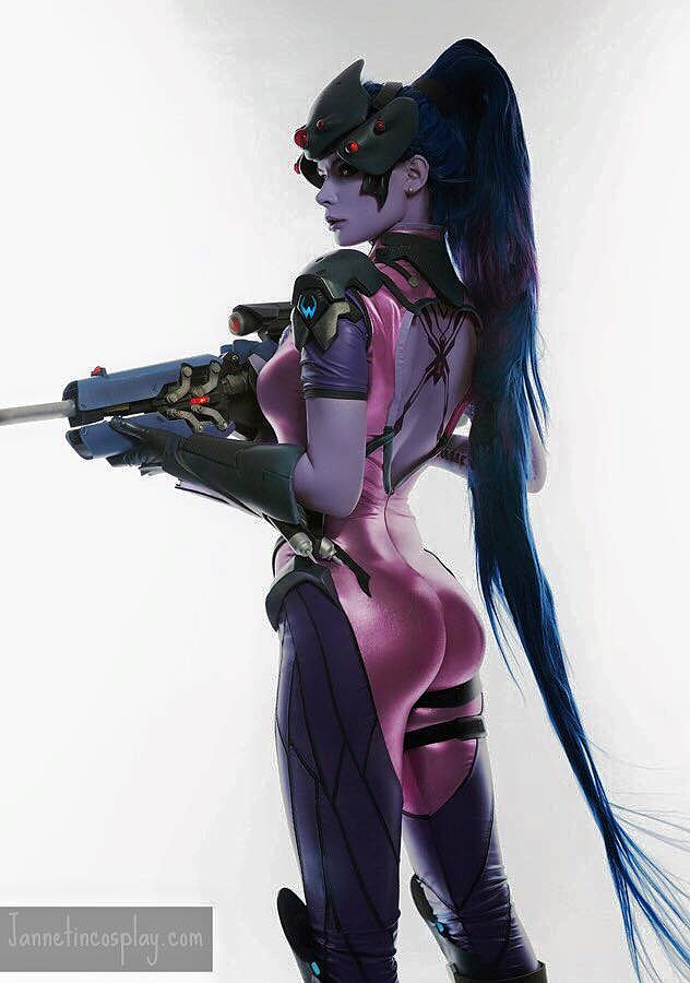 Russian Cosplay: Widowmaker (Overwatch) by jannetincosplay