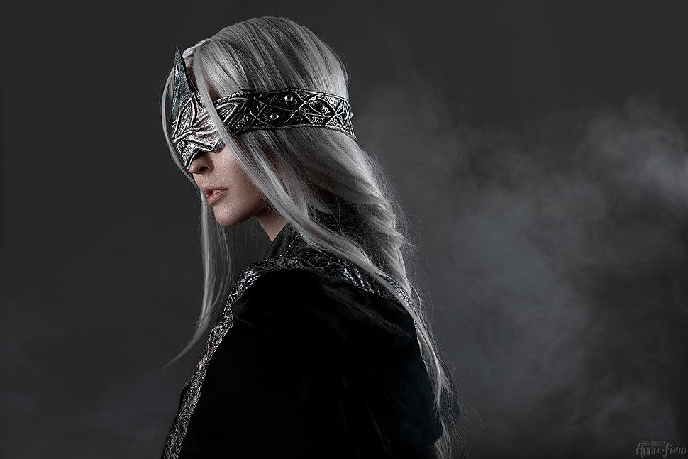 Russian Cosplay: Fire Keeper (Dark Souls 3)