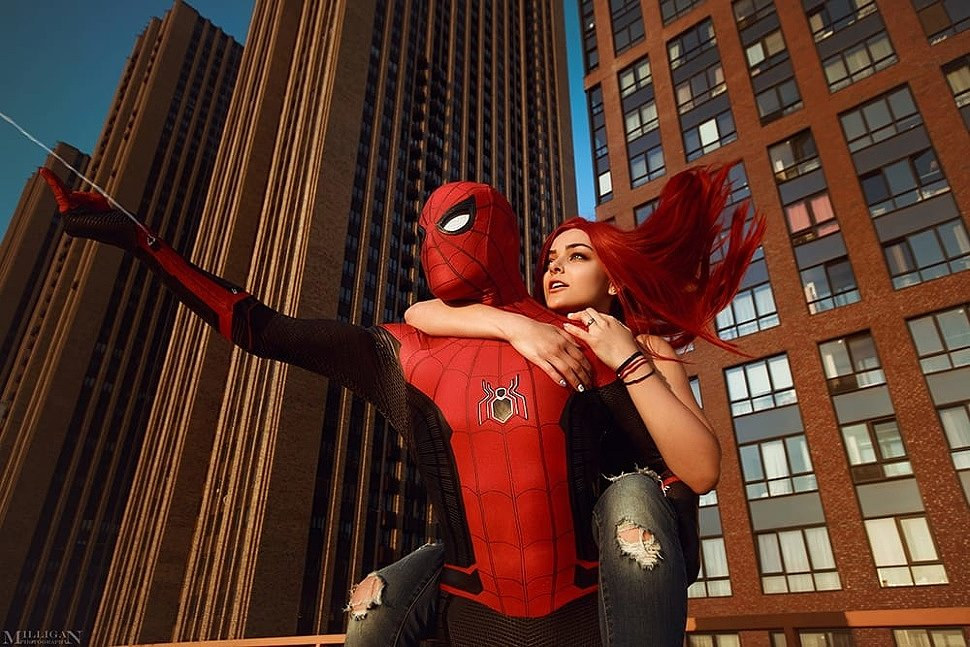 Russian Cosplay: Spider-man & Mary Jane Watson (Spider-man) by Shamrock & Marika Greek