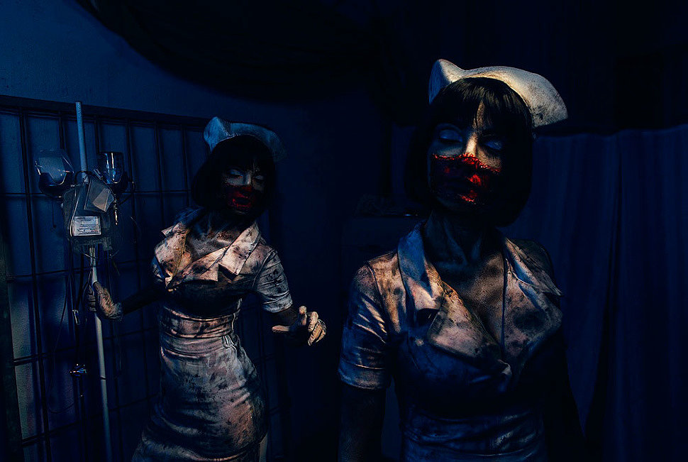 Russian Cosplay: Nurse (Silent Hill 3)