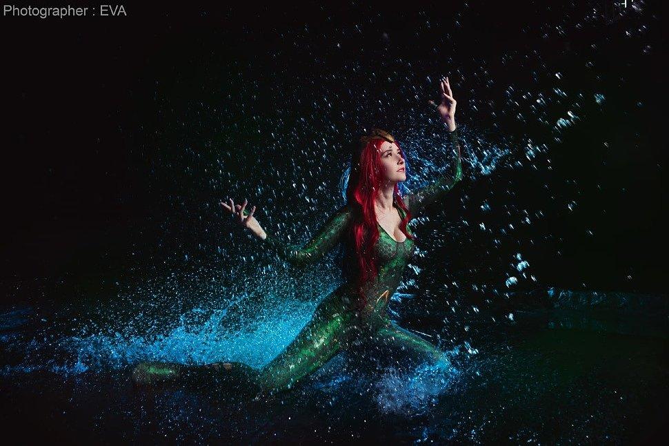 Russian Cosplay: Mera (Aquaman)