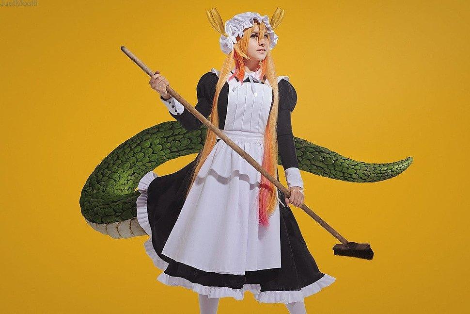 Russian Cosplay: Tohru (Miss Kobayashi's Dragon Maid)