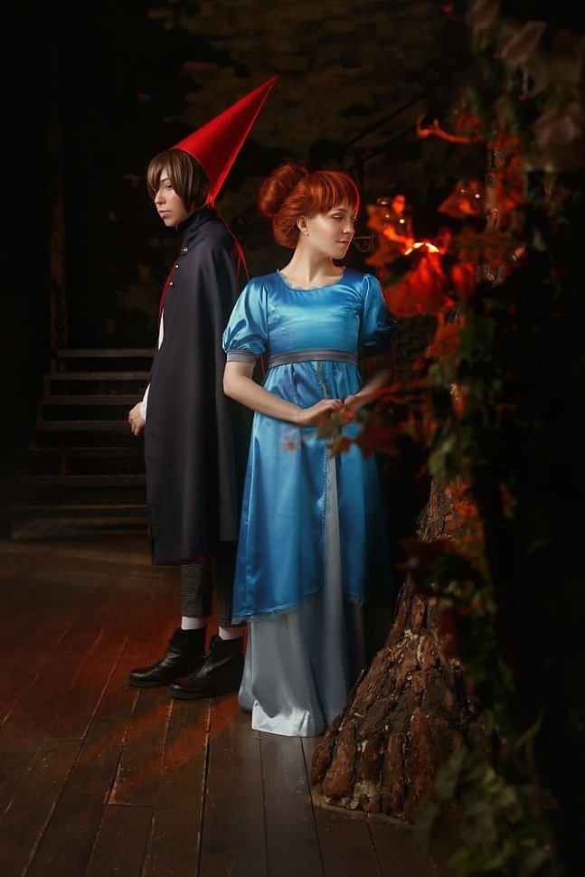 Russian Cosplay: Wirt, Greg & Beatrice (Over The Garden Wall)