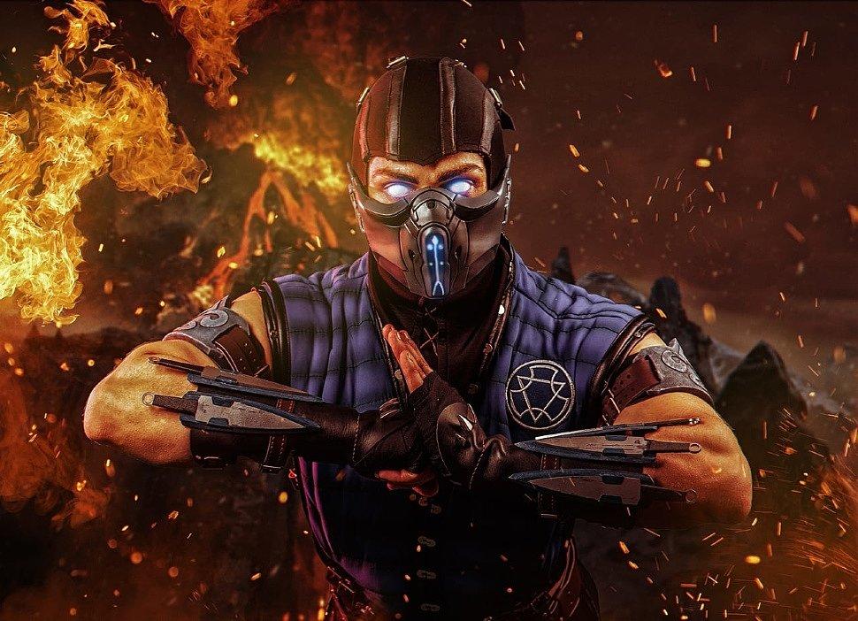 Russian Cosplay: Sub-Zero (Mortal Kombat)