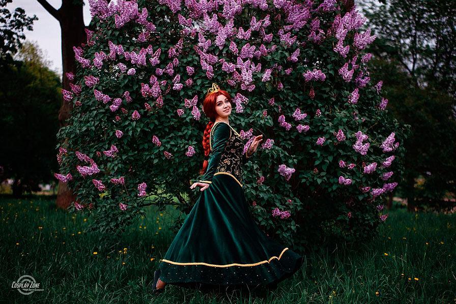 Russian Cosplay: Fiona (Shrek)