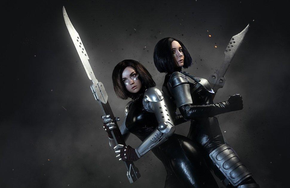 Russian Cosplay: Alita (Alita: Battle Angel) by Tanuki & Aleksandra Mak