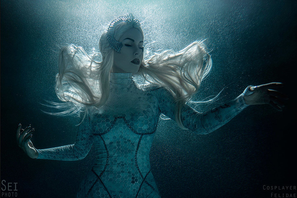 Russian Cosplay: Queen Atlanna (Aquaman Movie) by Felidae