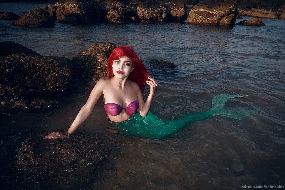 Russian Cosplay: Ariel (The Little Mermaid)