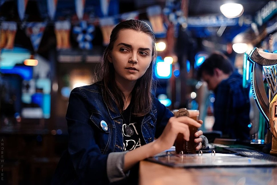 Russian Cosplay: Arya Stark modern ver (Game of Thrones) by Kseniya Petrova