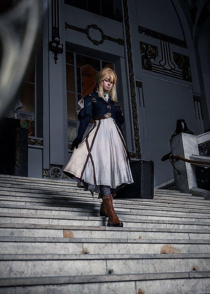Russian Cosplay: Violet Evergarden