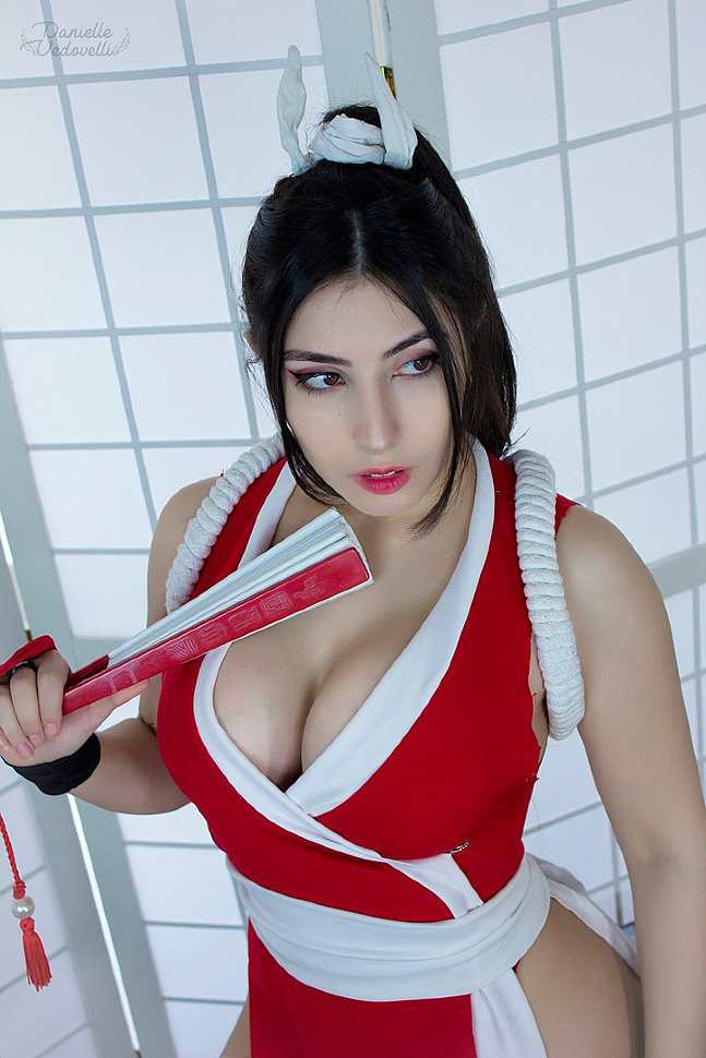 Cosplay: Mai Shiranui (The King of Fighters) by Danielle Vedovelli