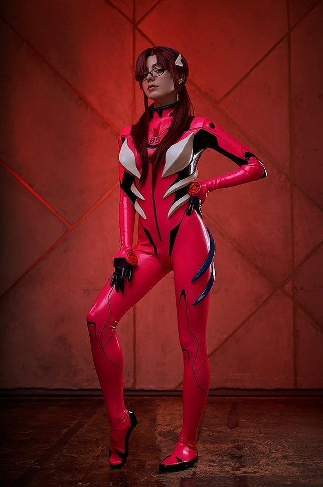 Russian Cosplay: Mari Illustrious Makinami (Evangelion)