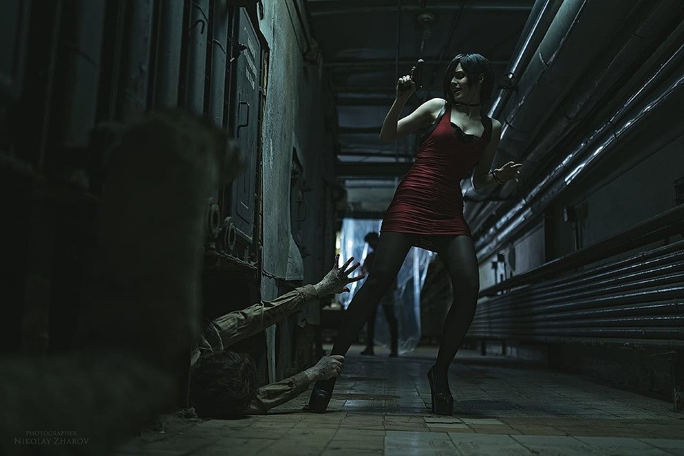 Russian Cosplay: Ada Wong (Resident Evil 2) by MightyRaccoon