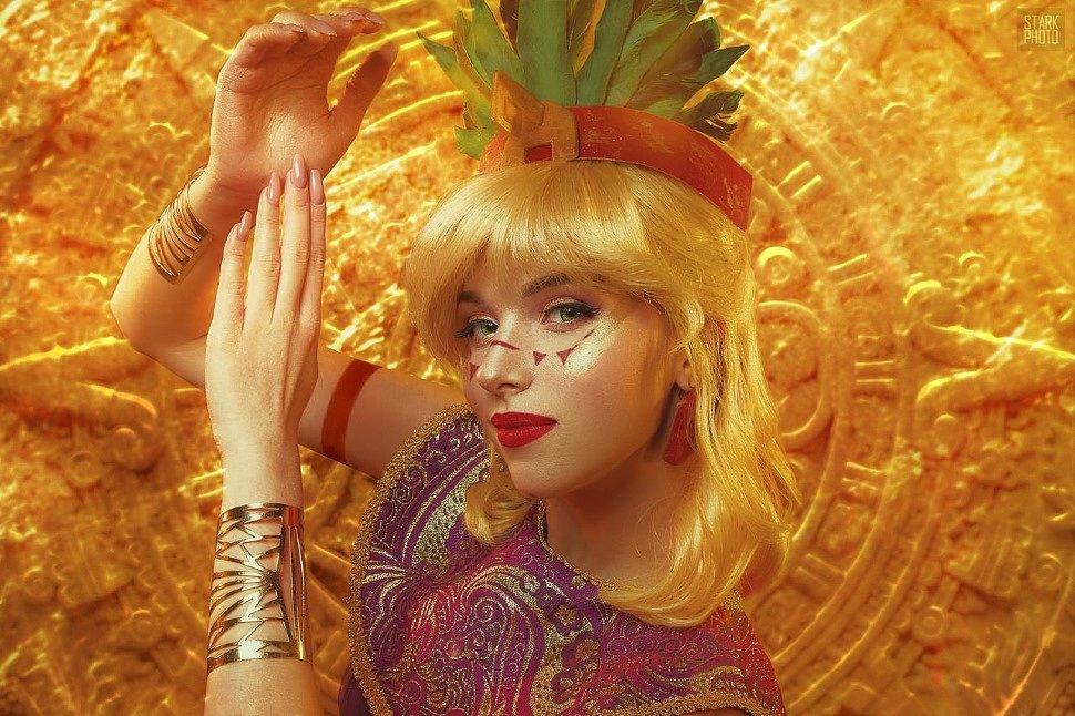 Russian Cosplay: fem! Tulio & fem! Miguel (The Road to El Dorado)