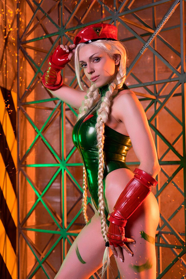 Russian Cosplay: Cammy White (Street Fighter) by Octokuro (NSFW)