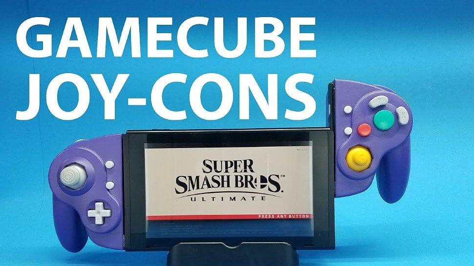 [Fun Video] I made GameCube Joy-Cons (by Shank Mods)