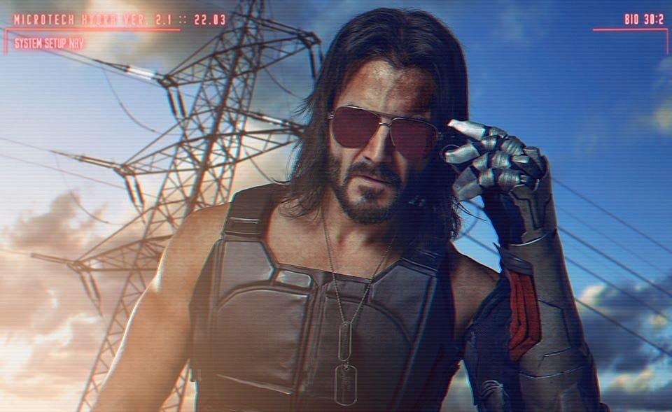 Cosplay: Johnny Silverhand (Cyberpunk 2077) by Taryn