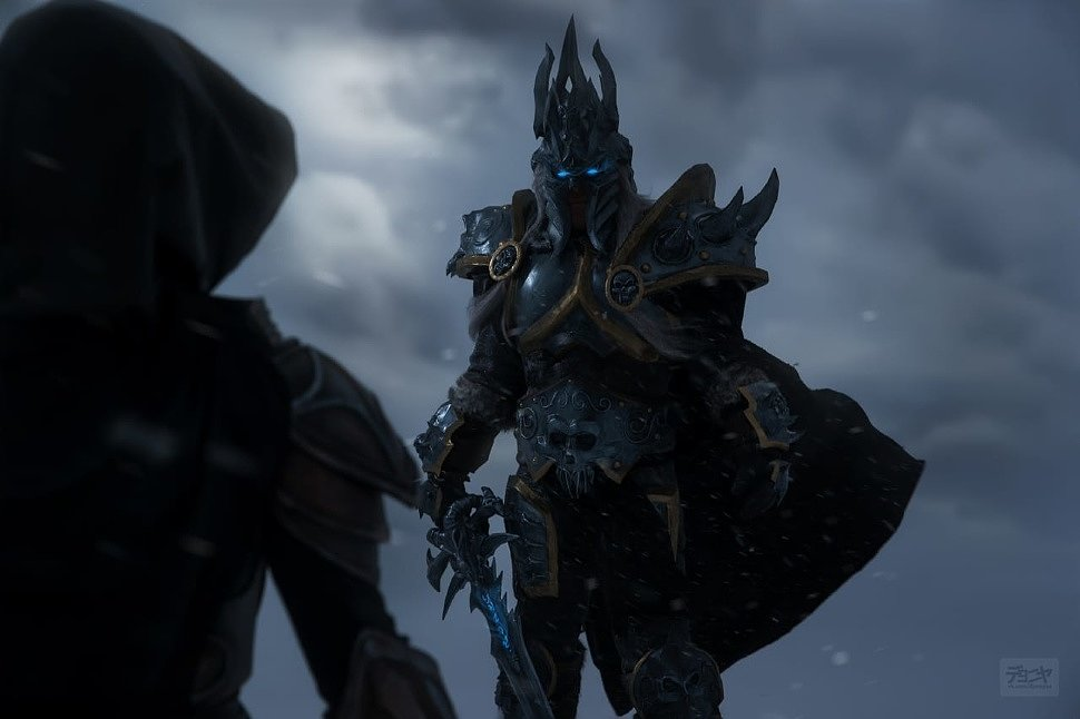 Russian Cosplay: Lich King & Demon Hunter (Heroes of the Storm) by Kurus King & Ali Fro