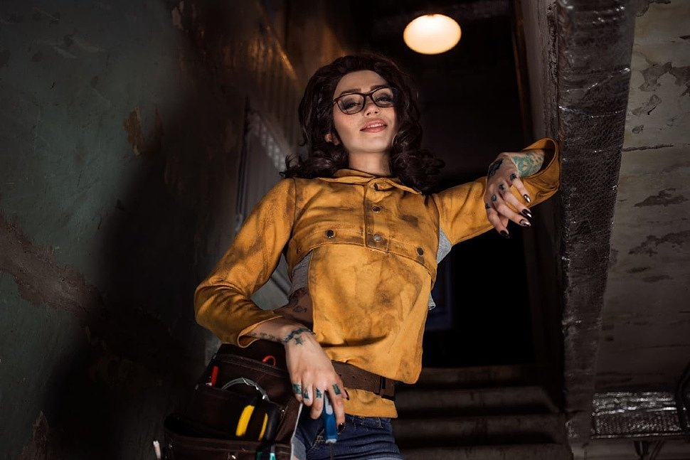 Russian Cosplay: Nico (Devil May Cry 5) by Marty
