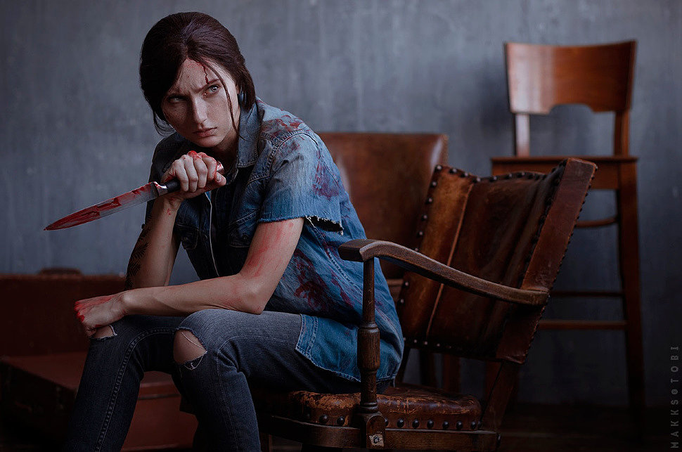 Russian Cosplay: Ellie (The Last of Us Part II)