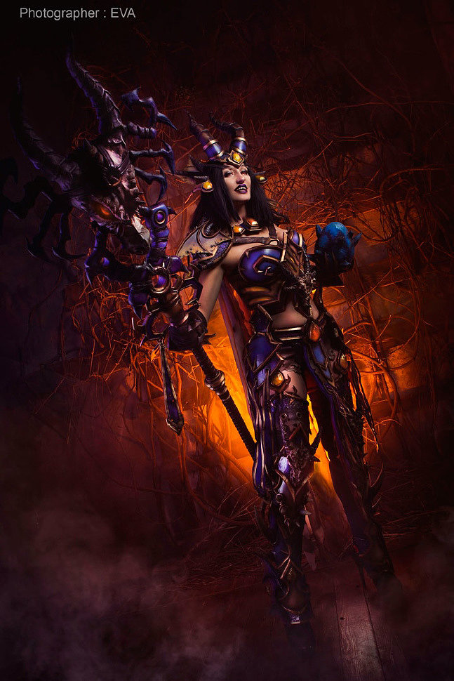 Russian Cosplay: Lady Sinestra (World of Warcraft)
