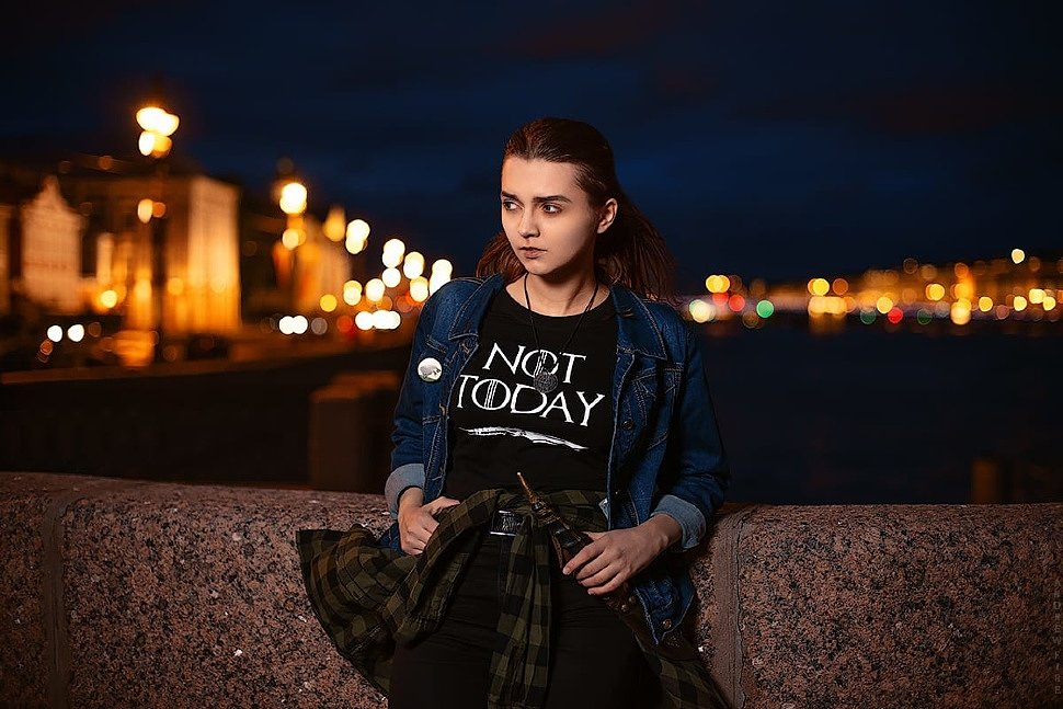 Russian Cosplay: Arya Stark modern ver (Game of Thrones) by Kseniya Petrova