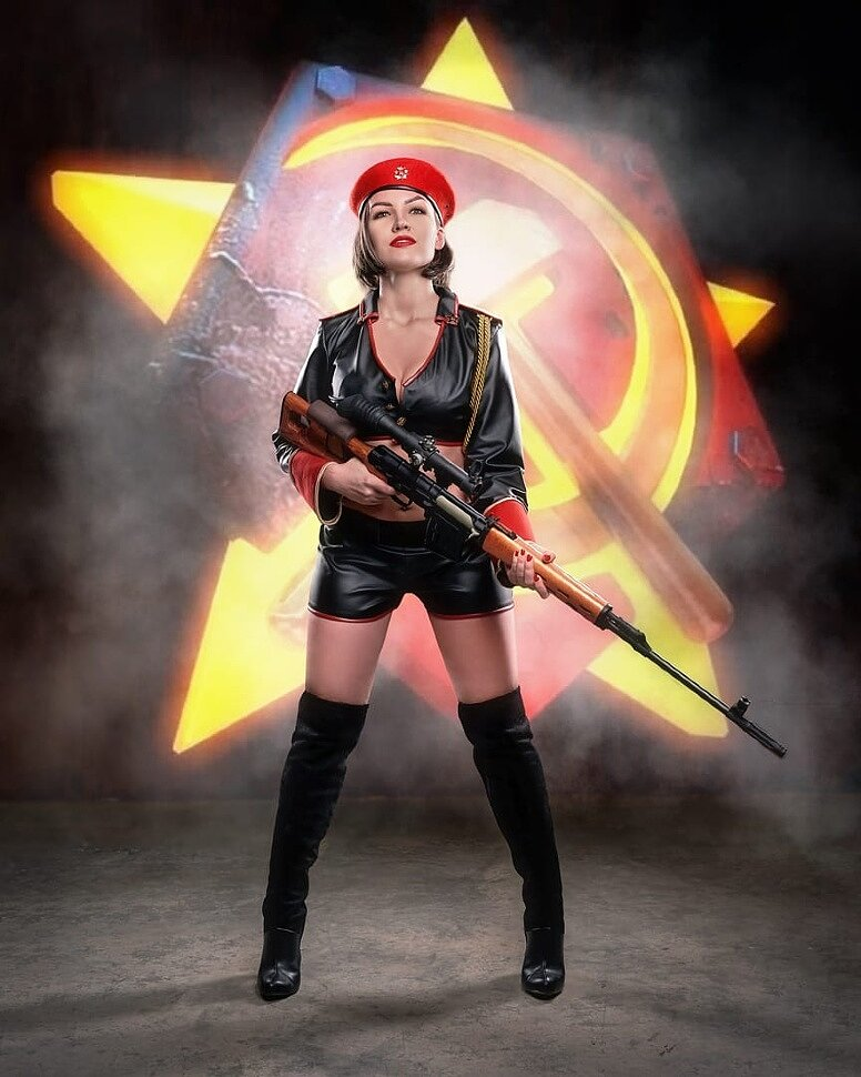 Russian Cosplay: Natasha Volkova (Command & Conquer: Red Alert 3) by Freya Veles