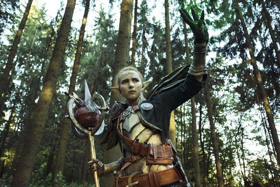 Russian Cosplay: Inquisitor Lavellan (Dragon Age: Inquisition)