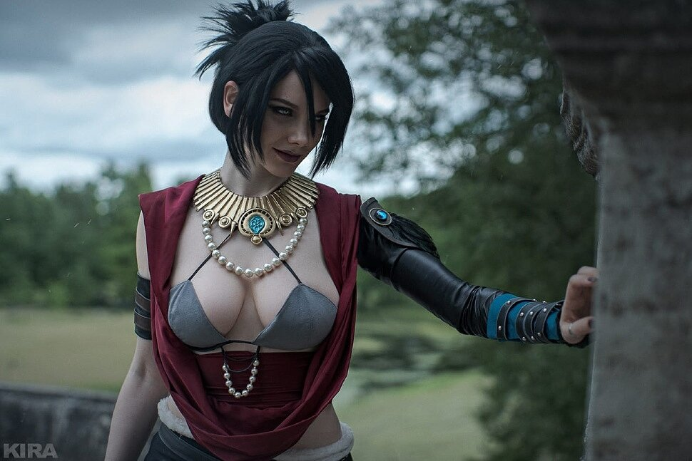 [Cosplay] Morrigan (Dragon Age: Inquisition) by Reilin