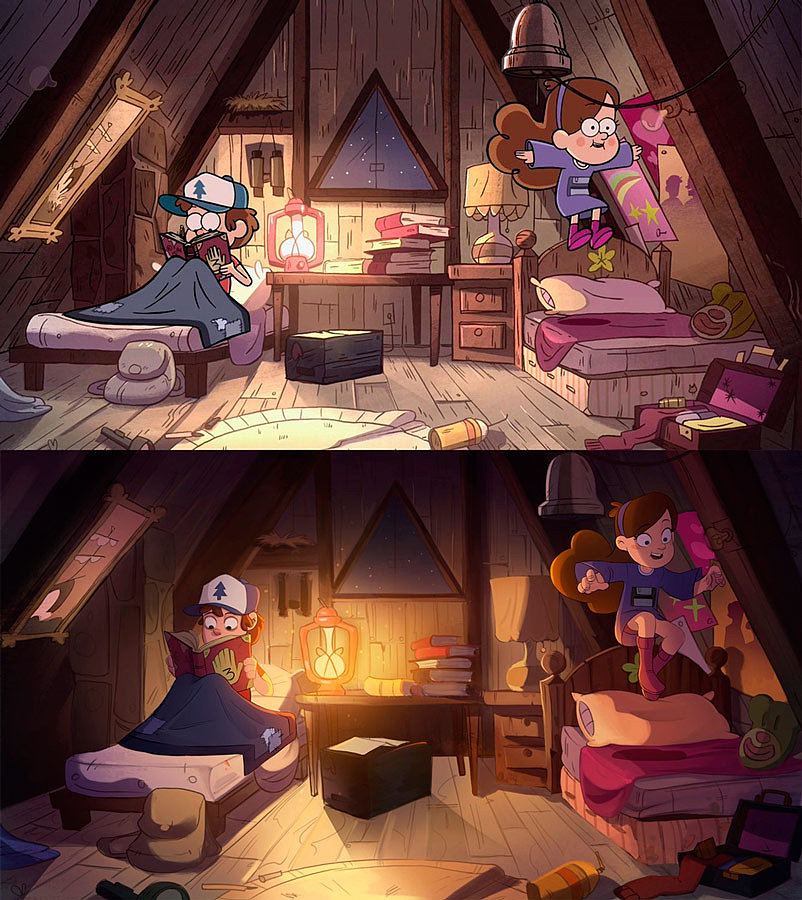 [Art] Gravity Falls by Puba24