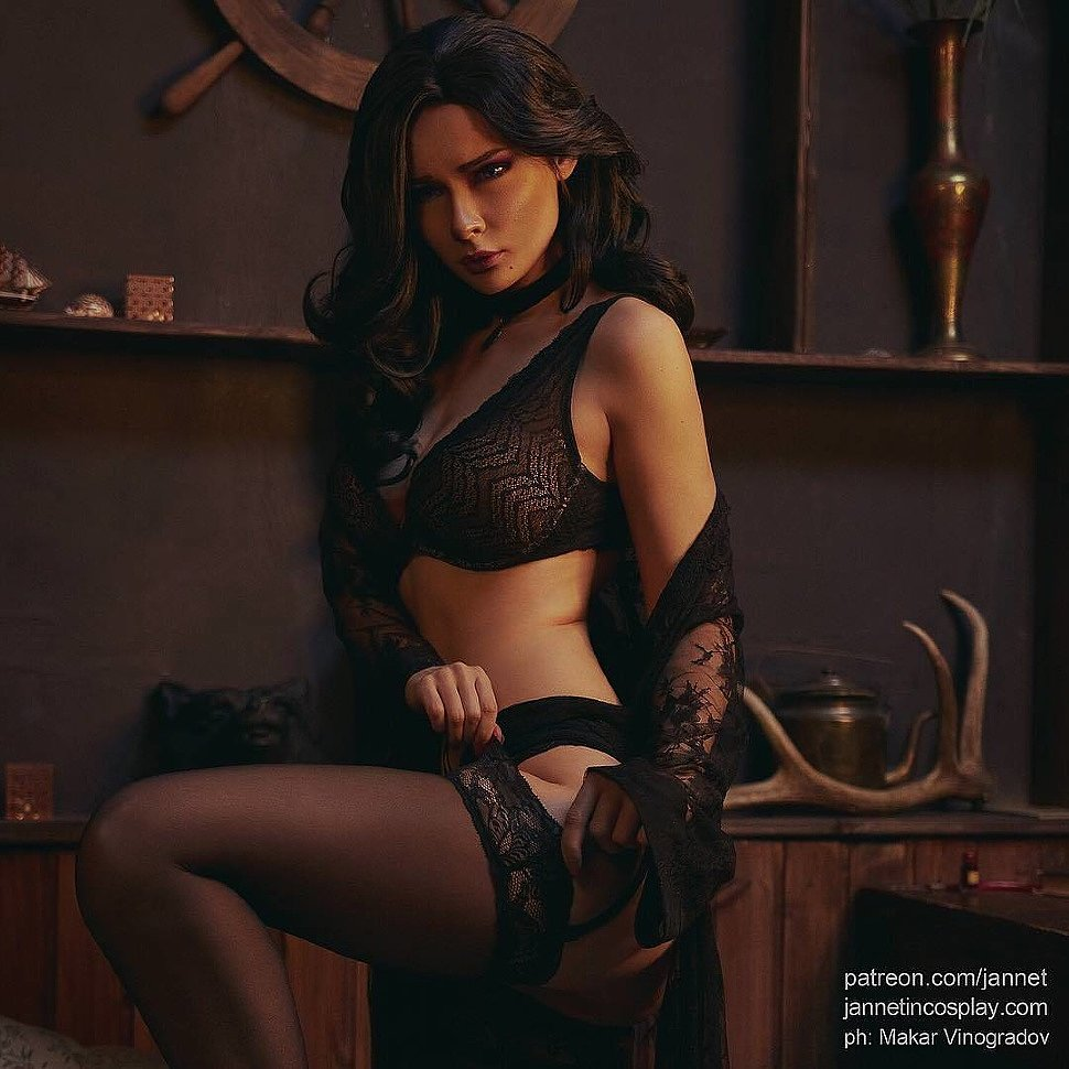 Russian Cosplay: Yennefer (The Witcher) by jannetincosplay